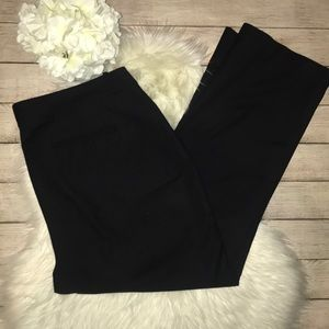 Eloquii Black Trouser Dress Pants
